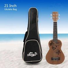 Giá Bán 21 Inch Mềm Mại Đan Ukulele Lưng Chống Nước Ukelele Buổi Biểu Diễn Tui 4 Day Đan Guitar Ba Lo Nguyên