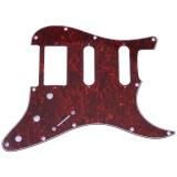 3 Lớp Đan Guitar Điện Pvc Pickguard Cho Fender Strat St Đỏ Quốc Tế Trong Trung Quốc