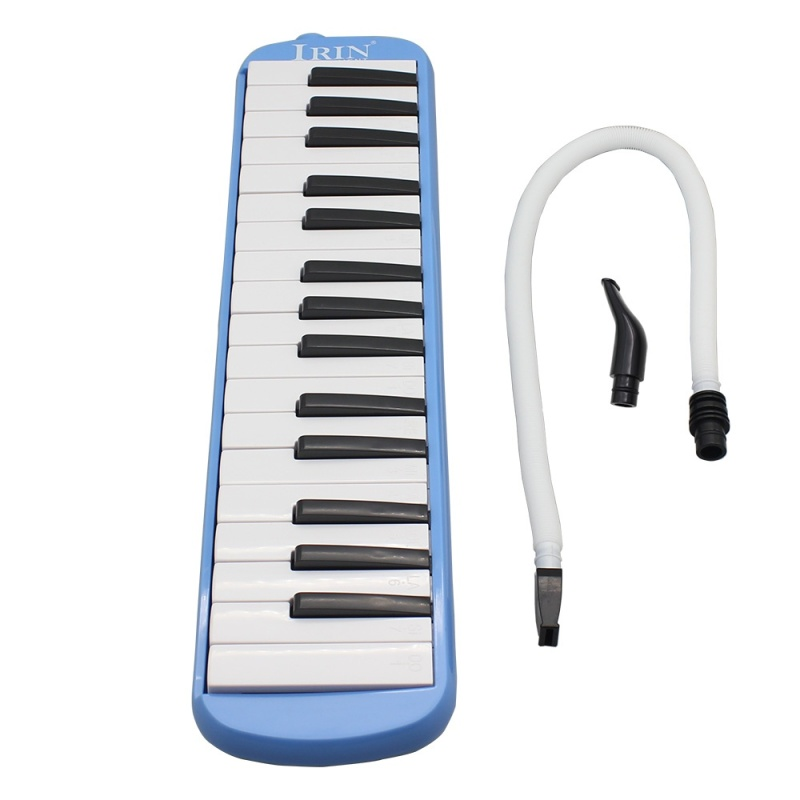 32 Piano Keys Melodica with Carrying Bag Musical Instrument for Music Lovers Beginners Gift Exquisite - intl