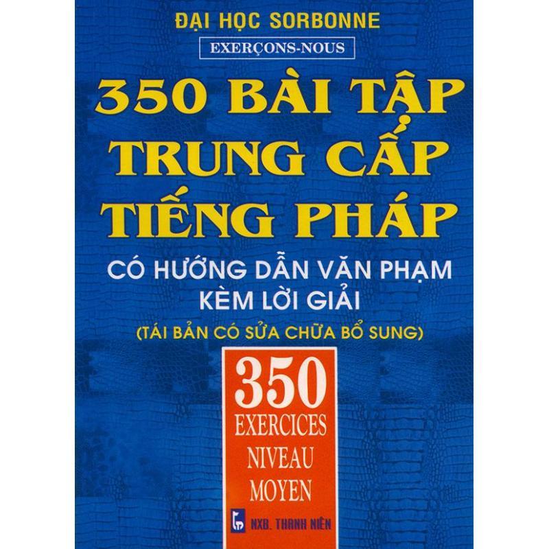 Mua 350 bài tập trung cấp tiếng Pháp