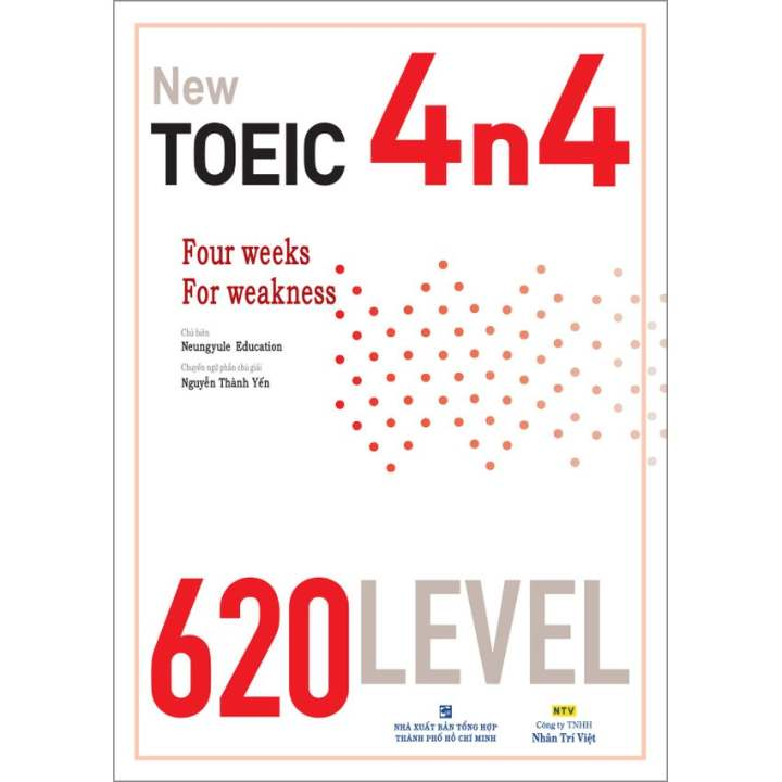 4n4 New TOEIC - 620 Level (kèm CD)