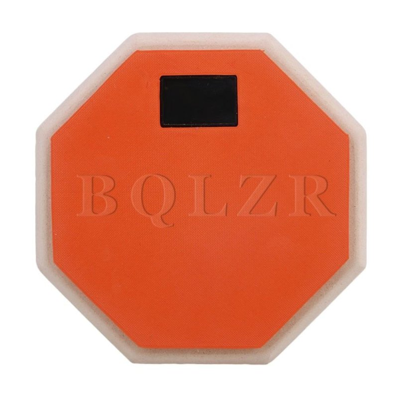 6\ Portable Drum Double Sided Pad Orange - intl