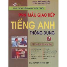 990 Mẫu Giao Tiếp Tiếng Anh Thông Dụng Tập 1 (kèm CD) Giá Giảm