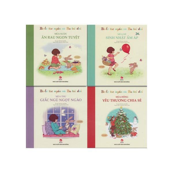 Be Le Tóc Ngắn Và Bu Tai Dài -Bộ 4 Cuốn (2-6 tuổi)