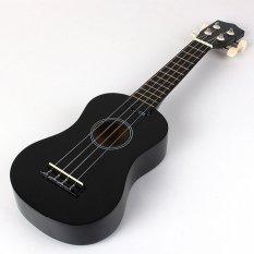 Beginners Ukulele Uke Mahalo Style Ukelele Soprano Ukulele Musical Instrument Black New - intl