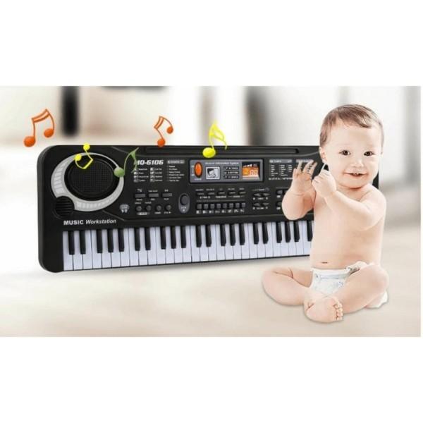 Bộ đàn Organ 61 phím MQ-6106 có Micro dành cho trẻ em - Kmart