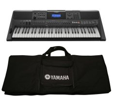 Mua Bộ Đan Organ Yamaha Psr E453 Va Bao Đan Organ Yamaha 2 Lớp Đen Trong Hà Nội