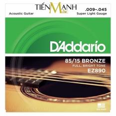 Giá Bán Bộ Day Đan Guitar Acoustic D Addario Ez890 Cam Kết 100 Hang Hang Usa D Addario Mới
