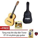 Bán Bộ Guitar Yamaha Classic C40M Bao Đan Yamaha Va Day Alice Classic A106 Tặng May Len Day Đan Tuner Et 33 Va 1 Phim G*y Guitar Trong Hồ Chí Minh