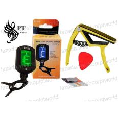 Bán Bọ May Len Day Đan Guitar Tuner Et 33 Capo Alice Cao Cáp A007K Pick Alice Pin