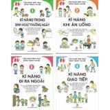 Giá Bán Bộ Sach Cẩm Nang Sinh Hoạt Bằng Tranh Cho Be Bộ 4 Cuốn Nxb Kim Đồng Mới