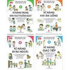 Bán Bộ Sach Cẩm Nang Sinh Hoạt Bằng Tranh Cho Be Bộ 4 Cuốn Nxb Kim Đồng Hà Nội