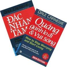 Bộ sách Đắc Nhân Tâm + Quẳng Gánh Lo Đi Và Vui Sống - Dale Carnegie - Bộ 2 cuốn - NXB First News