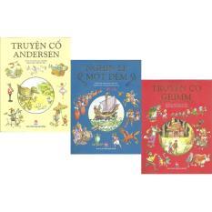 Mua PT-Bộ sách Nghìn Lẻ Một Đêm, Truyện Cổ Andersen và Truyện Cổ Grim - Val Biro kể lại và minh họa - NXB Kim Đồng