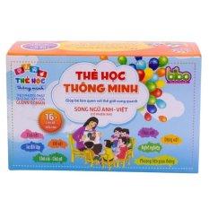 Giá Bán Bọ Thẻ Học Thong Minh Song Ngữ Anh Viẹt 16 Chủ Đè 416 Thẻ Trong Hà Nội