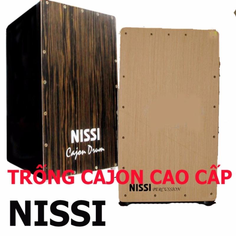 Bộ Trống Cajon Nissi Cao Cấp (Có Vít Chỉnh Tem)