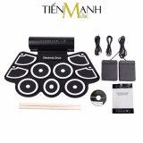 Mua Bộ Trống Điện Tử Konix Portable Digital Drum Md760 Hỗ Trợ Kết Nối May Tinh Konix Rẻ