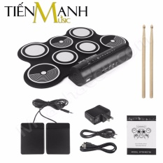 Giá Bán Bộ Trống Điện Tử Konix Portable Digital Drum W759 Tốt Nhất