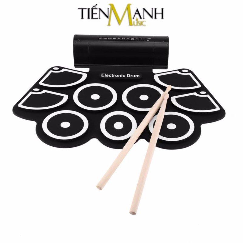 Bộ trống điện tử Konix Portable Digital Drum W760 chất lượng cao, âm thanh hay - Hỗ trợ giai điệu và bài nhạc cài sẵn trong trống