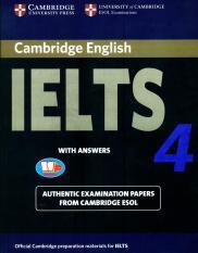 Mua Cambridge IELTS 4