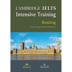 Mua Cambridge IELTS Intensive Training Reading (kèm CD)