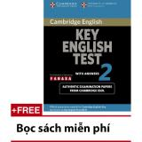 Giá Bán Cambridge Key English Test Ket 2 Kem 2 Cd Nguyên