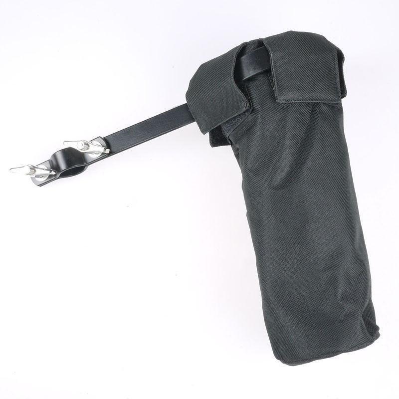 Vải bạt Dùi Trống Giá Đỡ Giai Đoạn Phong Cách Kẹp Vào Trống Ốp Lưng Dính Búa Màu Đen-intl