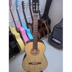 Classic Guitar Viẹt Nam Dc100 Màu Gõ Tự Nhien Tặng Bao Da 3 Lớp Và Phụ Kiẹn Duy Guitar Shop Chiết Khấu 40