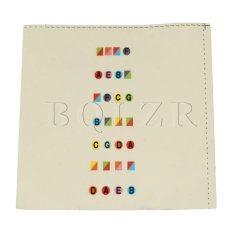 Giá Bán Colorful Plastic Fretboard Note Stickers For Full 4 4 Size Violin Intl