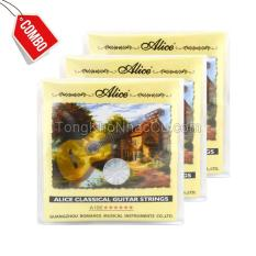 Bán Combo 4 Bộ Day A106 Cho Đan Guitar Classic Có Thương Hiệu Rẻ