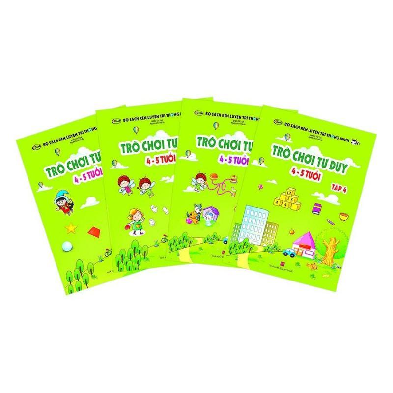 Mua Combo Bộ sách Trò chơi tư duy 4-5 tuổi ( 4 Tập)