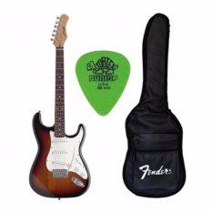 Mua Combo Đan Guitar Điện Stagg S250Sb Bao Pick