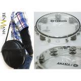Giá Bán Combo Trống Lắc Tay Va Bao Đựng Lục Lạc Go Bo Tambourine Yamaha Mt6 102T Trong Suốt Trống Chơi Nhạc Chế Go Po Xipo No Nguyên