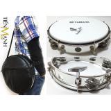 Giá Bán Combo Trống Lắc Tay Va Bao Đựng Lục Lạc Go Bo Tambourine Yamaha Mt6 102A Trắng Trống Chơi Nhạc Chế Go Po Xipo Trong Hà Nội