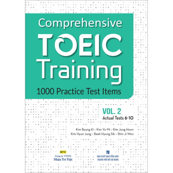 Comprehensive TOEIC Training – Vol. 2 (kèm CD)