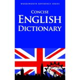 Concise English Dictionary Wordsworth Reference Series Rẻ
