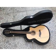 Giá Bán Đàn Guitar Acoustic Cao Cáp Điẹp Già Bao Da 3 Lớp Phím Gảy Alice Nhãn Hiệu Oem