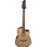 Giá Bán Đàn Guitar Acoustic Dve70 Màu Gõ Duy Guitar Có Thương Hiệu