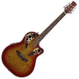 Giá Bán Đan Guitar Acoustic Electric Stagg A2006 Cs Vang Phối Đỏ Nhãn Hiệu Stagg