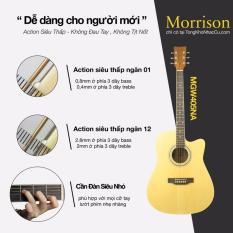 Ôn Tập Cửa Hàng Đan Guitar Morrison Mgw 405Na Bao 3 Lớp Capo B701 Pick Ap100 Trực Tuyến