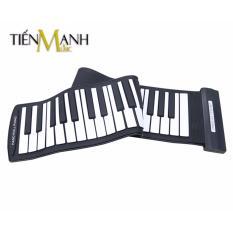 Cửa Hàng Bán Đan Piano Konix 61 Phim Cuộn Mềm Dẻo Flexible Md61S Roll Up Piano Hỗ Trợ Kết Nối May Tinh Co Cap Kết Nối Usb Midi Keyboard Controller