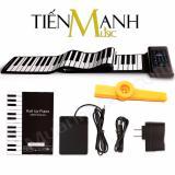 Giá Bán Đan Piano Konix 88 Phim Cuộn Mềm Dẻo Flexible Pb88 Roll Up Piano Hỗ Trợ Kết Nối May Tinh Pin Sạc 1000Mah Co Pedal Cap Kết Nối Usb Midi Keyboard Controller Tặng Ken Kazoo Rẻ