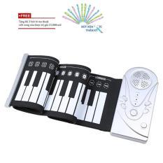 Đàn Piano Cuộn Giá Rẻ/đàn Piano Cuộn 49 Phím + Tặng Bộ 3 Bút Bi Ma Thuật By Benhome Shop.