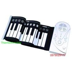 Chiết Khấu Đan Piano Điện Tử Ban Phim Cuộn Dẻo 49 Keys