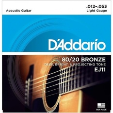 Dây Đàn Guitar Acoustic - D'Addario EJ11 Giá Sốc Nên Mua