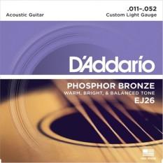 Dây Đàn Guitar Acoustic - D'Addario EJ26 Giá Ưu Đãi Không Thể Bỏ Lỡ