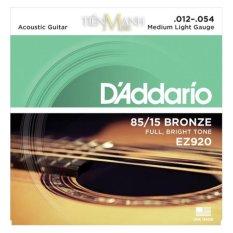 Bán Bộ Day Đan Guitar Acoustic D Addario Ez920 Cam Kết 100 Hang Hang Usa Hà Nội