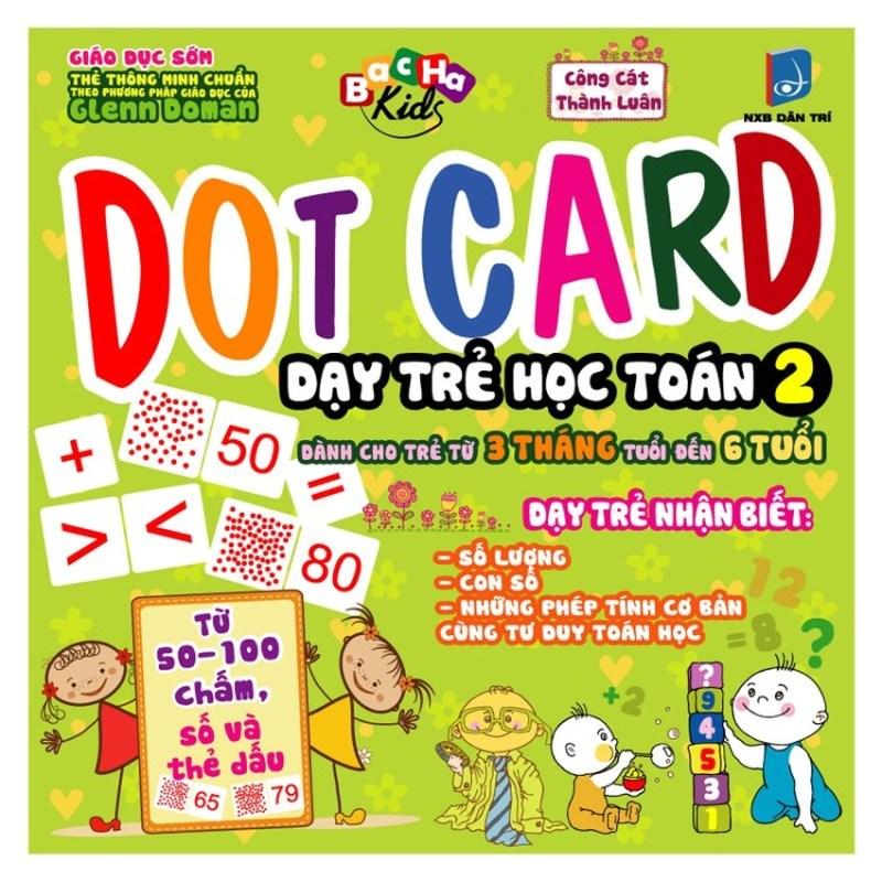 Mua Dot Card Dạy Trẻ Học Toán - Dành Cho Trẻ Từ 3 Tháng - 6 Tháng