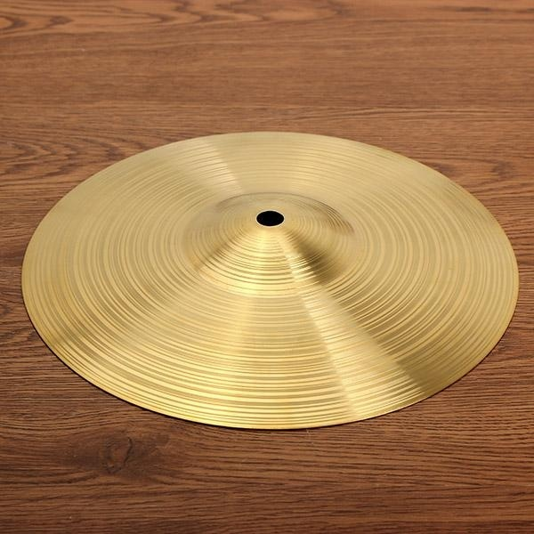 Drum kit brass cymbal 10 inch Gold - intl