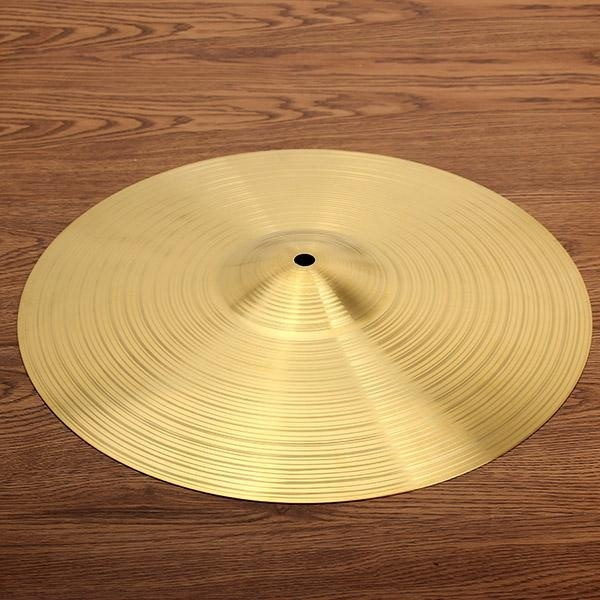 Drum kit brass cymbal 14 inch Gold - intl